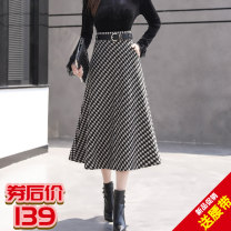 Cosplay women's wear Other women's wear goods in stock Over 14 years old Black and white thousand bird grid Animation, original other See details M