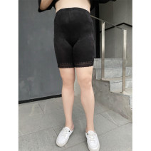 Women's large Summer 2021 Black, complexion Big size average Other oversize styles singleton  commute moderate Solid color Korean version other Xin Cun Zhen 25-29 years old 91% (inclusive) - 95% (inclusive) shorts