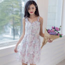 Dress Summer 2021 Narcissus powder S,M,L,XL,2XL A7L102226A
