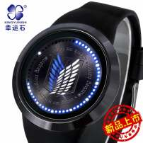 Cartoon watch / Necklace / Jewelry Over 14 years old the attacking J517Titan Wrist watch Led touch screen waterproof watch goods in stock Levy / soldier Commander currency Japan Metal Xingyunshi