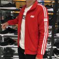 Sports jacket / jacket Erke / hongxingerke male Spring 2020 stand collar zipper Sports & Leisure ventilation Men's outdoor