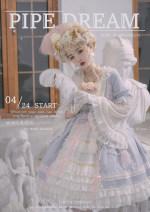 Dress Spring 2021 Red, blue, black S,M,L,XL Middle-skirt singleton  Long sleeves Sweet middle-waisted zipper Princess Dress Others Type A Moon Star Museum csm02 Chiffon polyester fiber Lolita