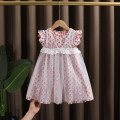 Dress Picture color female Dr. Black  90cm,100cm,110cm,120cm,130cm Cotton 95% other 5% summer Forest Department Skirt / vest Broken flowers cotton A-line skirt 2021-4.7-B002 Class A 12 months, 9 months, 18 months, 2 years old, 3 years old, 4 years old, 5 years old, 6 years old, 7 years old