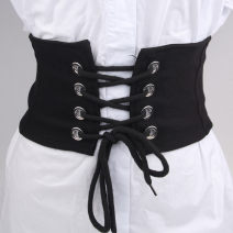 Belt / belt / chain cloth female Waistband Sweet Single loop Youth, youth, middle age other Glossy surface 12cm alloy