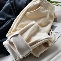 Women's large Winter 2020 White grey black Large L Large XL Large XXL large XXL large XXL trousers singleton  commute easy thick Korean version Three dimensional cutting C973 Wujijia 25-29 years old 71% (inclusive) - 80% (inclusive) Other polyester 95% 5% trousers