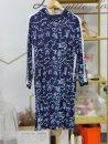 Dress Summer 2021 blue M,L,XL,2XL #NOHASHTAG bj012