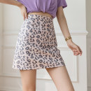 skirt Summer 2021 S M L XL Pink Blue apricot Short skirt commute High waist A-line skirt Leopard Print Type A 25-29 years old XH6703 # twenty-seven 91% (inclusive) - 95% (inclusive) Leisure trace other zipper Korean version New polyester 95% other 5% Pure e-commerce (online only)