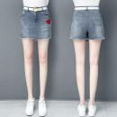 skirt Summer 2021 26/S 27/M 28/L 29/XL 30/2XL 31/3XL 32/4XL 33/5XL Black Denim Short skirt Versatile High waist Denim skirt other Type A 25-29 years old Qmh-601 xia-45 51% (inclusive) - 70% (inclusive) Qian meihui cotton Cotton 65.1% polyester 19.7% viscose 12.3% polyurethane elastic 2.9%