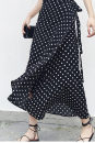 skirt Summer 2020 High waist Irregular commute More than 95% Dot other 18-24 years old Other / other dhini W8 Korean version One size fits all Black dots