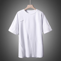 T-shirt other White, black routine S,M,L,XL Others Short sleeve Crew neck easy daily spring Cotton 93.7% polyurethane elastic fiber (spandex) 6.3% youth routine other other cotton other