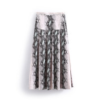 skirt Winter 2020 S, M Pink snake, blue snake, apricot snake Middle-skirt Natural waist other 25-29 years old More than 95%