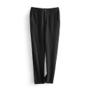 Casual pants black M, L Spring 2021 trousers Natural waist commute routine 25-29 years old 96% and above MXV2212B8A Other / other Korean version polyester fiber