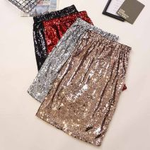 skirt Spring 2021 Average size Black, gold, silver, red, white, blue Mid length dress commute High waist skirt other Type A 18-24 years old 3851# 51% (inclusive) - 70% (inclusive) other Other / other other Korean version