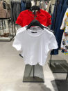 T-shirt S,M,L Spring 2021 Short sleeve Crew neck Self cultivation have cash less than that is registered in the accounts routine street cotton 96% and above 18-24 years old Solid color hm  zara.ur Europe and America