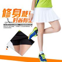 Badminton wear White pleated skirt, black pleated skirt, white pleated skirt, black pleated skirt, black shorts, no reason to return in 7 days female S,M,L,XL,XXL,XXXL Solu / soluk Lower garment YZ-182021