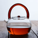 teapot Heat resistant glass other other no Yellow red 601ml (inclusive) - 700ml (inclusive) Japanese  Solid color