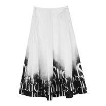 skirt Spring of 2019 white s.deer