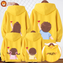 Parent child fashion A family of three Unisex for women and men Tong Xini N139 spring and autumn leisure time routine printing Sweater / sweater cotton L m s XL XS XXL XXS XXL other sizes plus XXL one size N139 Cotton 97% polyurethane elastic fiber (spandex) 3% Class B S M L XL XXL Spring 2021