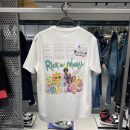 T-shirt Youth fashion White b2dab2171 routine S,M,L,XL,2XL Peacebird Short sleeve Crew neck easy Other leisure summer B2DAB2171 youth routine tide 2021 Cartoon animation printing cotton Cartoon animation More than 95%