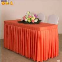 tablecloth Black, orange, royal blue, purple, coffee, dark green, sky blue, light coffee, bright red, golden yellow, jujube, beige, pure white, beige, pink, oak red chemical fiber Simple and modern Solid color Other Plain weave