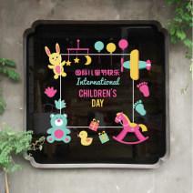 Wall stickers PVC Xiaoda Flat wall sticker Zhang written words Simple and modern