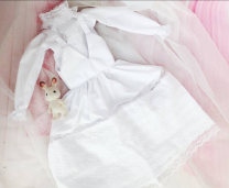 BJD doll zone Dress 1/6 Over 3 years old goods in stock white 1/3,1/4,1/6,1/8 nothing