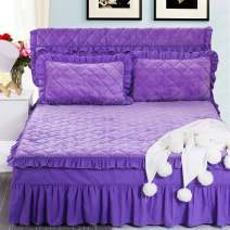 Bed skirt Solid color Other Other / other Qualified products KXawd6Qp Pink, lake blue, wine red, rose red, light purple, sky blue, violet, snow blue, bean paste, big red, pink, orange, beige, silver gray