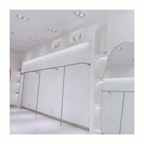 Clothing display rack Silver drawing 1.2 * 0.28 * 1.6, silver drawing 1.5 * 0.28 * 1.6, silver drawing 2.4 * 0.28 * 1.6, silver drawing 3.6 * 0.28 * 1.6, please contact customer service for silver customization clothing stainless steel Official standard 120x28x160cm