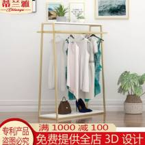 Clothing display rack L 100 * W 40 * h 150 gold, l 120 * W 40 * h 150 gold% $, l 150 * W 40 * h 150 gold, l 100 * W 40 * h 150 matte black, l 120 * W 40 * h 150 matte black, l 150 * W 40 * h 150 matte black, customized size clothing Metal RIL7012 Other Official standard, package one