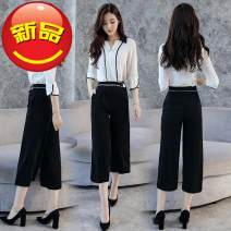 Fashion suit Spring 2020 M,L,XL,XXL,S 96% and above cotton