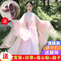Children's performance clothes Clothes + shirt clothes + shirt + shoes clothes + shirt + drape + shoes clothes + shirt + drape Koi special reminder female 110cm 120cm 130cm 140cm 150cm 160cm 170cm Heityin Class B YJ86 other Other 100% other Spring 2020 Chinese style