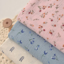 Fabric / fabric / handmade DIY fabric Beige Navy arrow
