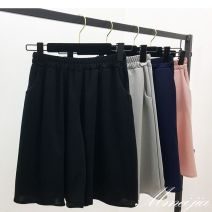 Casual pants Average size Summer of 2018 Pant Wide leg pants High waist 81% (inclusive) - 90% (inclusive)
