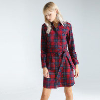Dress Spring 2020 Red and blue check 0,2,4,6