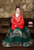 Hanfu 96% and above Winter 2017 Tibetan Blue Gold weaving, Qiuxiang green gold weaving, Wanli red gold weaving, Yabai gold weaving, and guanlv gold weaving Horse face skirt polyester fiber