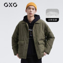 Jacket GXG Fashion City Green-c green-b 165/S 170/M 175/L 180/XL 185/XXL 190/XXXL easy Other leisure autumn GB121171E Polyester 100% Long sleeves Lapel youth routine Single breasted Autumn 2020 Same model in shopping mall (sold online and offline)