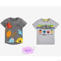 T-shirt 963-750 reservation Next male summer Short sleeve Crew neck Official pictures nothing cotton Cartoon animation 3 months, 6 months, 12 months, 9 months, 18 months, 2 years old, 3 years old, 4 years old, 5 years old, 6 years old, 7 years old