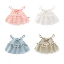 Dress female Bella 66cm,73cm,80cm,90cm,100cm Other 100% summer Skirt / vest other other 3 months, 12 months, 6 months, 9 months, 18 months, 2 years old, 3 years old, 4 years old
