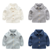 shirt Bella neutral 66cm,73cm,80cm,90cm,100cm spring and autumn Long sleeves leisure time Solid color other other