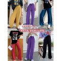 Women's large Summer 2020, spring 2020 Large XL, large XXL, large XXL, large XXXXL, large XXXXL, large L trousers singleton  commute easy thin Solid color Korean version modal  Three dimensional cutting Roradisa 18-24 years old belt 71% (inclusive) - 80% (inclusive) trousers bow