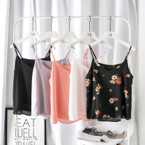 Vest sling Summer 2020 Decor, white, pink, light gray, black Big l [recommended 115-130 kg], big 1XL [recommended 135-160 kg], big 2XL [recommended 160-185 kg], big 3XL [recommended 185-220 kg] singleton  routine easy commute camisole 25-29 years old 71% (inclusive) - 80% (inclusive) nylon