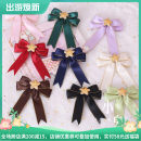 Hair accessories Side clip RMB 1.00-9.99 Other / other Black, dark green, dark blue, light purple, light blue, coffee, bright red, mustard green, milk white, dark red, honey pink, light pink brand new Original design Fresh out of the oven satin other