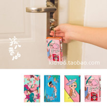 key case PU Other / other Pink camouflage with blue brand new Buckles character Japan and South Korea youth printing female printing