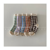 Children's socks (0-16 years old) Medium socks 5 pairs [I can't wait for return] XS: 1-2 years old (12cm-14cm), s: 2-3 years old (14cm-16cm), M: 4-5 years old (16cm-18cm), l: 6-7 years old (18cm-20cm), XL: adult (21cm-23cm) Other / other spring and autumn neutral leisure time