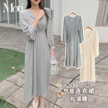 Dress Winter 2020 Apricot, grey S,M,L,XL
