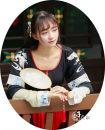 Custom made Hanfu Half arm + upper Ru + lower skirt, embroidered lower skirt piece, embroidered half arm piece, embroidered upper Ru piece, embroidered silk piece other Midnight Song Hanfu