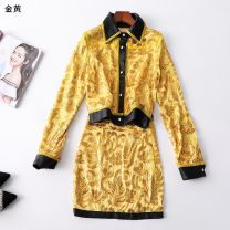 Fashion suit Summer of 2019 [s code], [M code], [l code], [XL code] [golden yellow staining] Other / other 31% (inclusive) - 50% (inclusive)