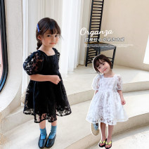 Dress female mantoumama 90cm hang tag 90100cm hang tag 100 sunny yard, 110cm hang tag 110120cm hang tag 120130cm hang tag 130 Other 100% summer princess Short sleeve flower other other Chinese Mainland Zhejiang Province