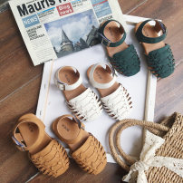 Sandals Other / other female other White, green, khaki, white for 6 days, green for 6 days, khaki for 6 days 21,22,23,24,25,26,27,28,29,30 summer Baotou Natural rubber Velcro children X688 X688