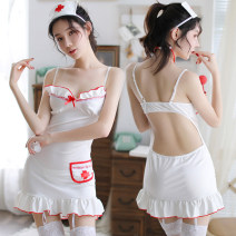 Dress Spring of 2019 White nurse skirt One size fits all, with white net stockings and white silk stockings Other / other yq191233